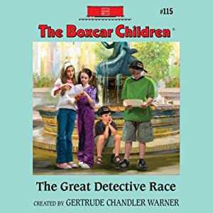 The Great Detective Race Audiobook