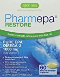Pharmepa RESTORE - 1000 mg pure EPA Omega-3 Wild Fish Oil per serving – 60 Capsules