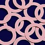 20pcs tibetara 1 1/8''(27mm)copper Round Pendants Blank Stamping Tags Diy Stamping Jewelry,inner diameter 18mm