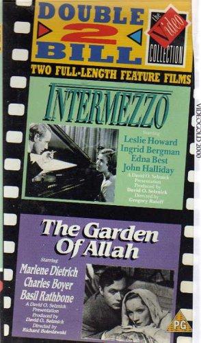 INTERMEZZO / THE GARDEN OF ALLAH: LESLIE HOWARD, INGRID BERGMAN ...