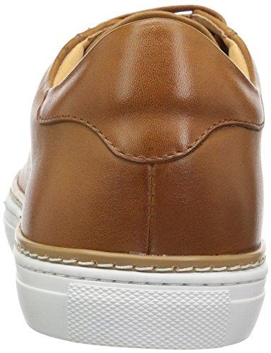 Anglais Blanchisserie Mens Genévrier Sneaker Cognac