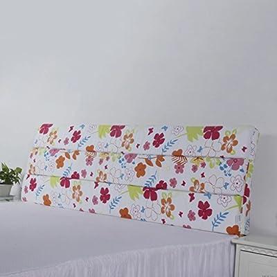 sección delgada de la esponja almohadones de cabecera almohada de espalda grande almohada tridimensional de tela desmontable colchones para niños