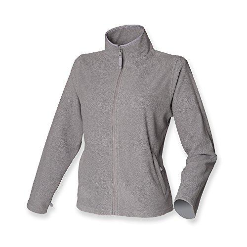 Henbury Ladies Micro Fleece Jacket Heather