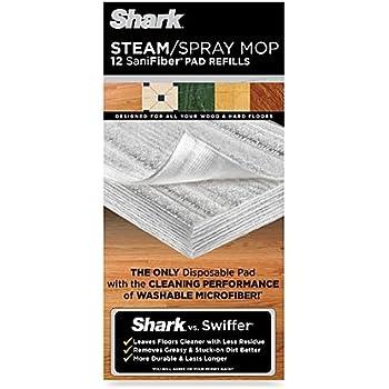 Amazon Com Shark Steam Spray Mop Sanifiber Disposable Pad
