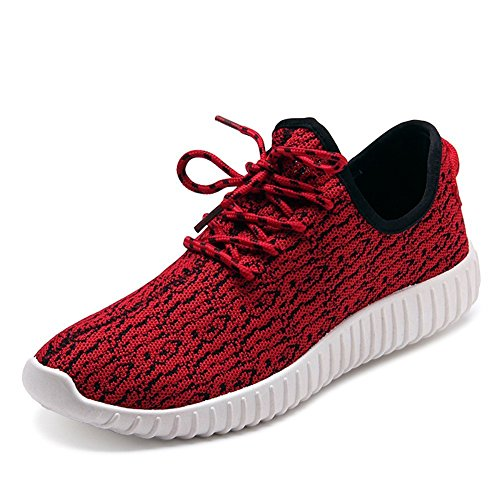 PET WITH ME Fashion Men's Fashion Running Sneakers Women's Slip-on Shoes 2Red8 D(M) US Hot Sell.
