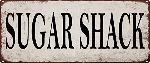 Yohoba Sugar Shack Metal Signs Vintage Look Rustic Metal Sig
