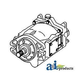 wiring diagram, amazon com: al75305-r reman hydraulic pump fits john  deere 7200 7210 on