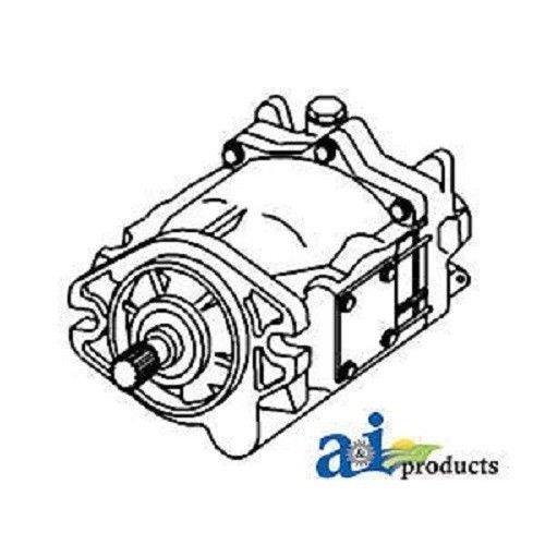 Amazon Com Al75305 R Reman Hydraulic Pump Fits John Deere 7200 7210