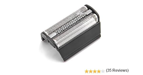 vhbw Doble lámina de afeitar con marco para máquinas de afeitar ...