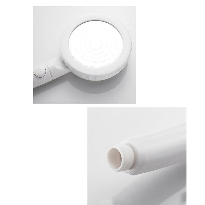 Ducha Punch-Free Base Mano Cabezal Interruptor Booster Manguera Calentador de Agua Individual Baño doméstico 13C * 29CM * 2CM MUMUJIN (Tamaño : Single ...