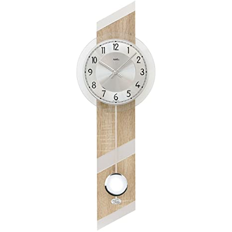 Moderno reloj de pared con diseño de AMS de las marcas de reloj de péndulo de