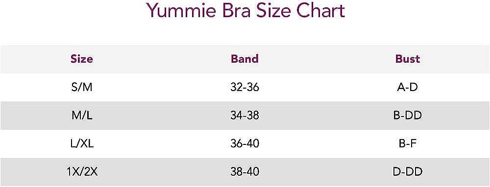 Yummie Women's Seamless Bandeau Bra at  Women's Clothing store