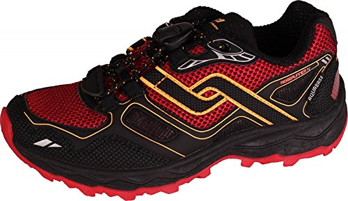 navy Schuh NAVY Pro Touch ORANGE Aqb Iv ROT gelb Jr schwarz Trail Ridgerunner Run 44AfnT