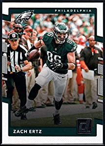 2017 Donruss #122 Zach Ertz Philadelphia Eagles Football Card