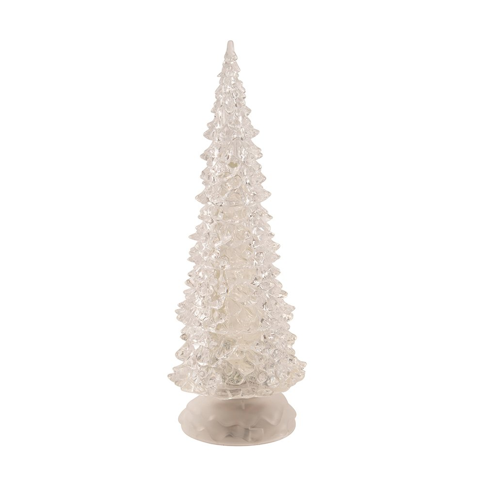 Kurt Adler 12-1/4-Inch Battery-Operated LED Light Tree Tablepiece Home Décor