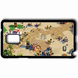 Personalized Samsung Note 4 Cell phone Case/Cover Skin Age Of Empires Black