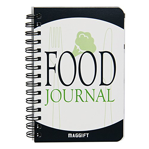 Maggift Food Journal/Food Diary/Diet Journal Notebook, 120 pages - 3 1/2