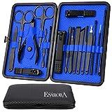 Manicure Set, ESARORA 18 In 1 Stainless Steel