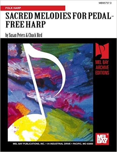 SACRED MELODIES FOR PEDAL-FREE HARP BOOK/CD SET: Amazon co
