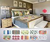 The CONNECTICUT HOME COMPANY Luxury Quilt Collection, Reversible, 3-Piece Set, Top Choice by Decorators, Many Sizes and Patterns, All Season Weight, Machine Washable (Dixie - Queen/Full)