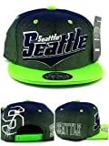 Legend of the Game Seattle New Top Pro Youth Kids II Seahawks Colors Blue Green Era Snapback Hat Cap