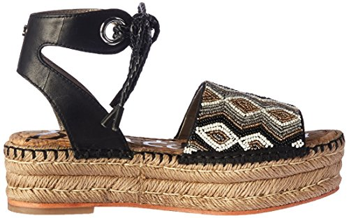 Sam Edelman Women's Neera Espadrille Wedge Sandal Black/Multi from china low shipping fee zS0cxTcvv