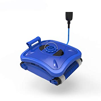 Homeure Robot automático Limpiafondos Eléctrico para Piscinas Fondo ...
