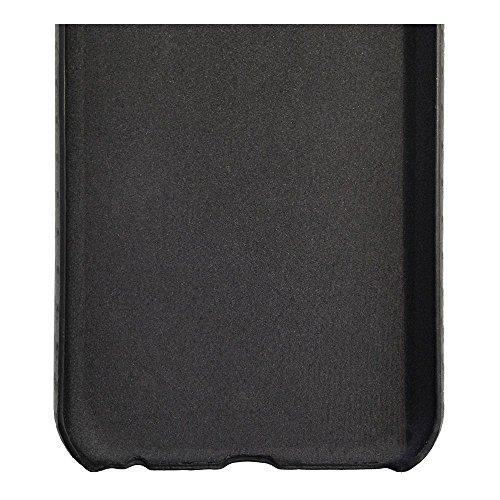Black Rock Ultra Slim Air Cover für Apple iPhone, Pure Black, Samsung Galaxy S6