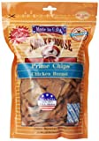 Smokehouse 100-Percent Natural Prime Chips Chicken Dog Treats, 16-Ounce