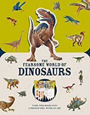 Paperscapes: The Fearsome World of Dinosaurs: Turn This Book Into a Prehistoric Work of Art