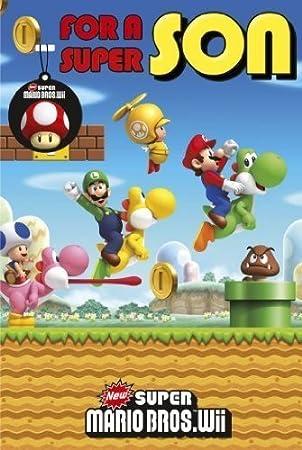 Super Mario Birthday Card For Son Toy Amazon Toys Games