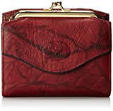 Buxton Heiress French Purse Wallet, Burgundy, One Size