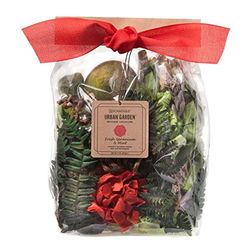 Aromatique Fresh Geranium & Mint Potpourri 9 oz Pocketbook