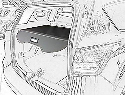 Black Cargo Cover - kongka Cargo Cover for 13-17 Ford Escape Cargo Cover Black Trunk Shielding Shade