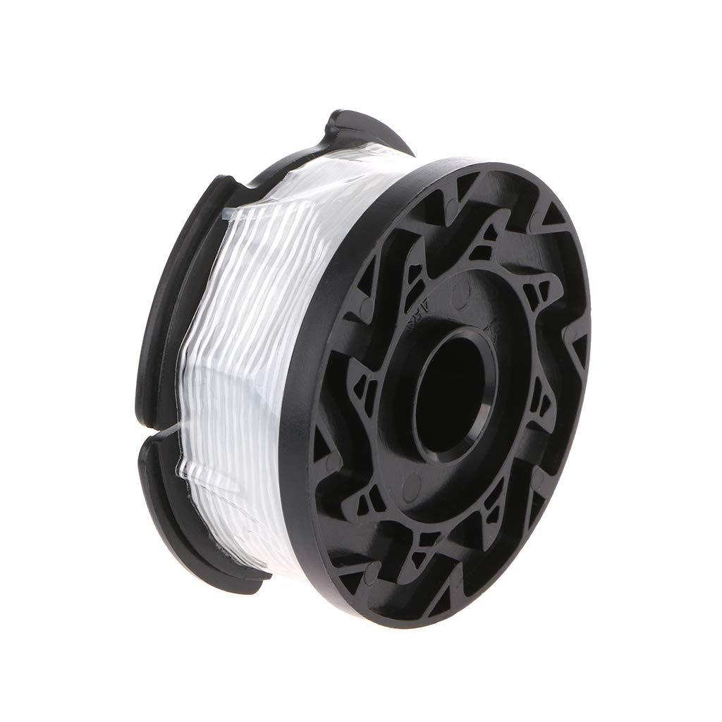Recortadora de hilo profesional para Black /& Decker juego de tapas de bobina de repuesto alimentaci/ón autom/ática profesional