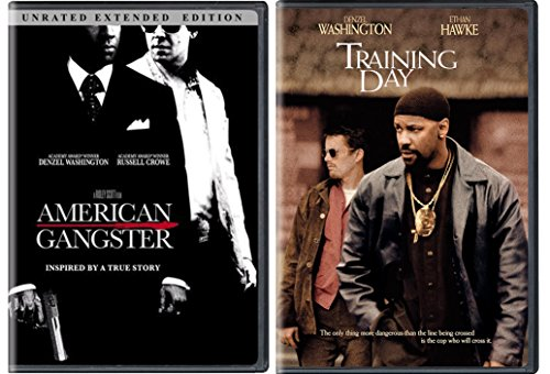 Denzel Washington Bundle - American Gangster (Unrated Extended Edition) & Training Day 2-Movie Collection