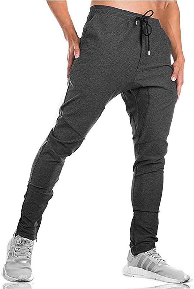MINHAO Pantalones de chándal para Hombre, Ajustados, con ...