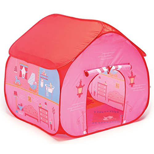 Fun2Give Pop-it-Up Dollhouse Tent with House Playmat, Multi