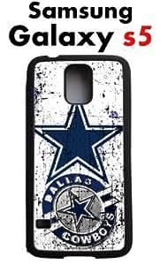 Dallas Cowboys Samsung Galaxy s5 Case Hard Silicone Case by ruishername