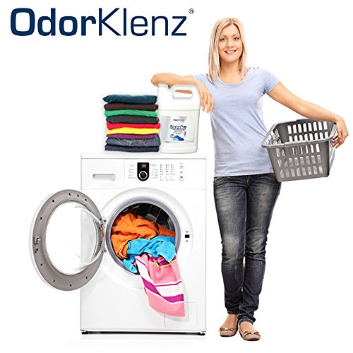 OdorKlenz Laundry Additive, Liquid Large - 15 Loads, Odor Neutralizer, Made in USA - Laundry Additive