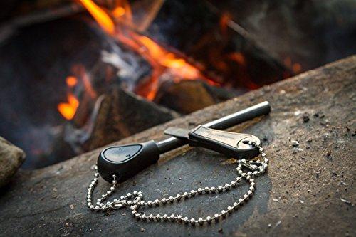 51HXmmi ZXL The Friendly Swede Feuerstarter Easy Grip - Feuerstahl in idealer Länge mit starkem Funkenflug für Camping, Outdoor…