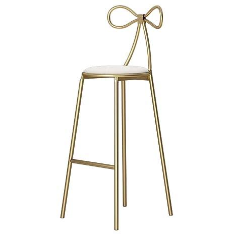 Amazon.com: Silla de bar, silla de bar nórdica, silla de ...