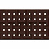 Ruff N Tuff Utility Door Mat, 18-Inch by 30-Inch, Weave Brown