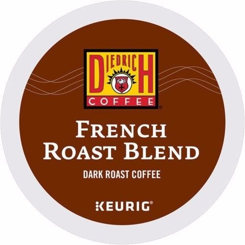 Diedrich Coffee K-Cup for Keurig Brewers, Dark Roast, French Roast (24 Count)