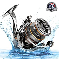 The Cadence CS8 series of spinning reels are beyond comparison at $80 by offering features, quality, and design of comparable reels far above $120. The ultra lightweight design is made possible with a magnesium and carbon composite constructi...