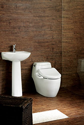 Bio Bidet Ultimate BB-600 Advanced Bidet Toilet Seat, Elongated White. Easy DIY Installation, Luxury Features From Side Panel, Adjustable Heated Seat and Water. Dual Nozzle Has Posterior and Feminine Wash by BioBidet (Image #9)