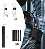 J Channel Cable Raceway Kit - 46 inch Desk Cable