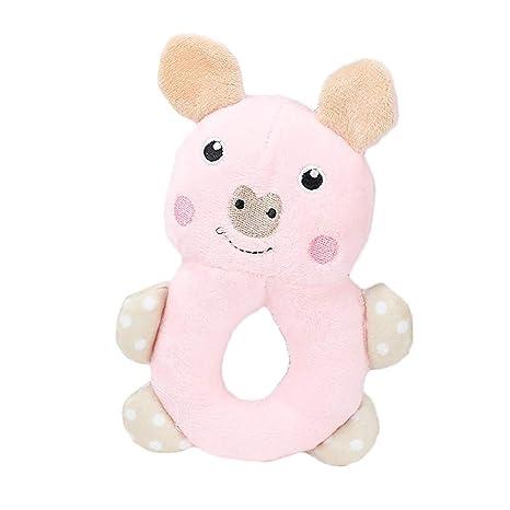 Cupcinu Juguete de Peluche para Mascotas de morder Juguete para Perros y Gatos con Sonido Juguete Molar educativos para Mascota Muñeca Cachorro Conejo ...