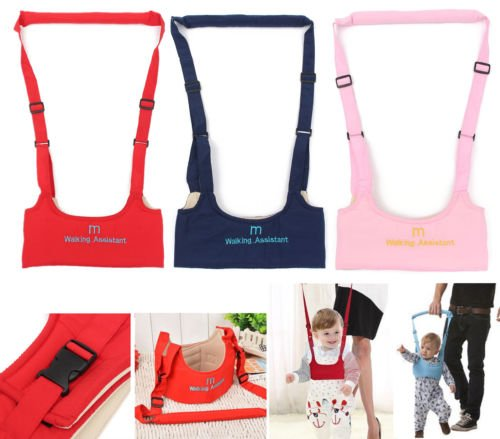 Walk Baby Walker Toddler Harness Assistant Activity Walking Safety Infant Jumper Bouncer Kid Toy Learn Belt Learning Stand Seat Moon Navy Blue Color (Settings Outdoor Melbourne)