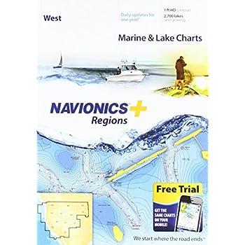 Image of Charts & Maps Navionics Plus Regions West Marine and Lake Charts on SD/MSD